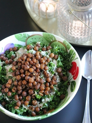Indiase boerenkool salade