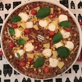 Knackerbrod als Pizza bodem | Zelf maken