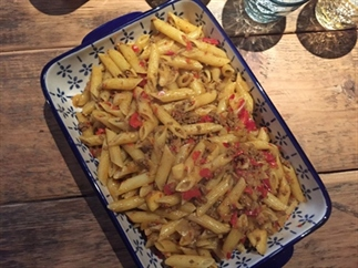 Marokkaanse pasta met Ras el Hanout