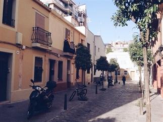Ons schattige appartement in Barcelona