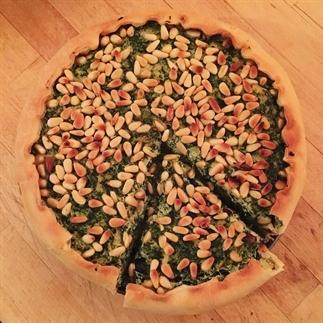 Recept: vegan hartige taart met spinazie