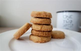 Recept voor makkelijke shortbread koekjes