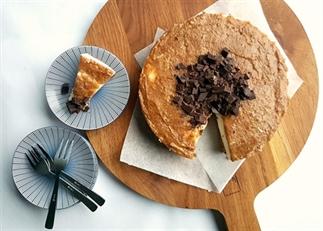 Speculoos kwarktaart met salted caramel (gezond)