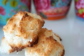 Suikervrije en koolhydraatarme kokosmakronen