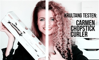 VIDEO: CARMEN CHOPSTICK CURLER