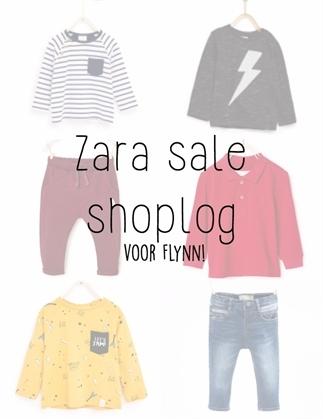 Zara sale shoplog voor mijn zoontje