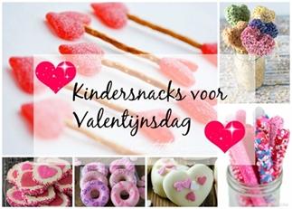 11 kindersnacks voor Valentijnsdag