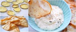 3 makkelijke recepten voor koolhydraatarme chips