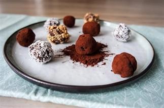 Chocolade Truffels voor Valentijnsdag
