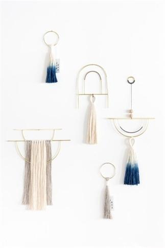 Een macrame hanger in je huis.