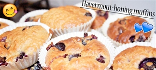 Gezond, simpel & goedkoop:Havermout honing muffins