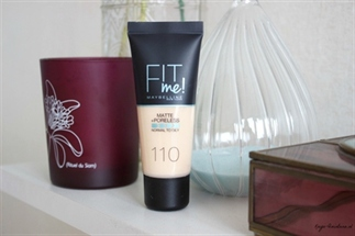 Maybelline Fit me matte foundation review