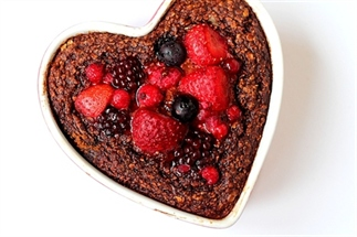 Recept: Breakfast brownie (met fruit)