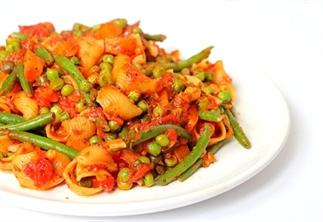 Recept: Eenpanspasta vol groenten