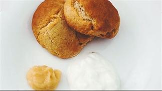 Recept spelt scones met lemon curd