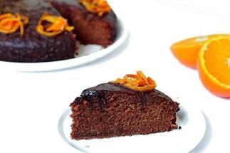 Recept: Vegan chocolade-sinaasappeltaart