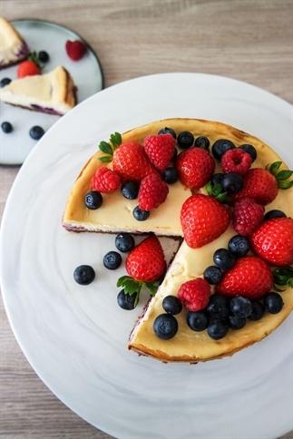 Recept voor Blueberry Cheesecake