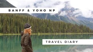 Reisvideo: roadtrip Banff en Yoho NP, Canada