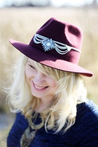 Vijf manieren om een hoed te decoreren
