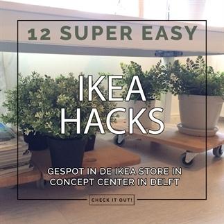 12 easy IKEA hacks gespot bij IKEA