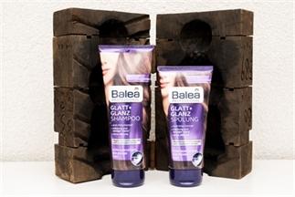 Balea Glatt + Glanz Shampoo & Spülung