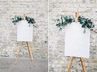 Bruiloftsinspiratie voor de minimalisten
