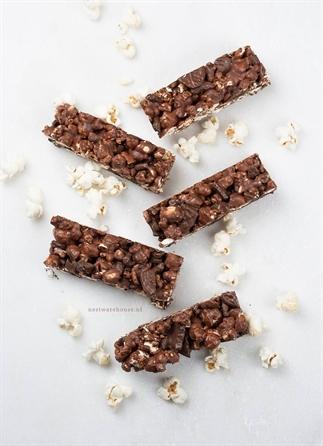 Chocolade oreo popcorn repen