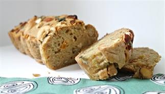 Gezond   Courgette-noten broodje