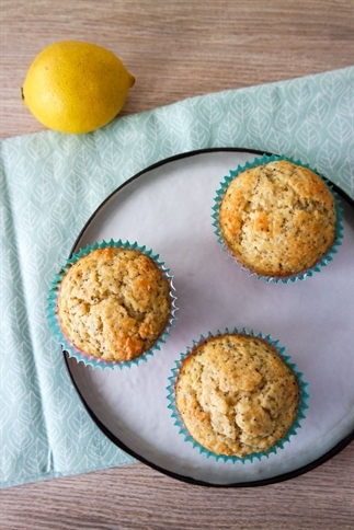 Recept voor citroen-maanzaad muffins