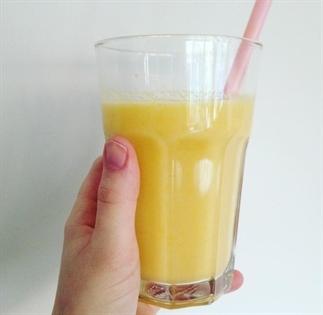 Smoothie met sinaasappel