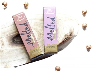 Too Faced Melted Matte lipsticks