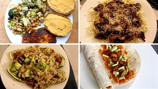 What I eat in a week: 5 snelle vegan maaltijden