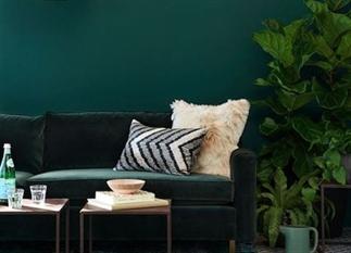 10x interieurs met een groene muur