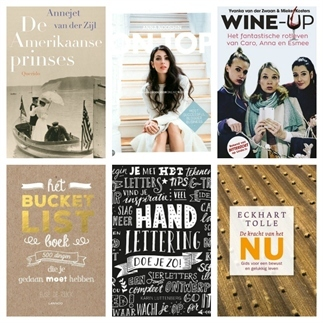 6 boekentips voor een ontspannen lente!
