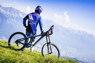 Actief in de zomer: mountainbiken in Innsbruck