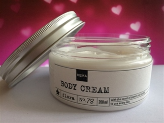 Beauty Review | HEMA Flora body cream No. 78
