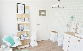 Binnenkijker: Babykamer Milan, DIY
