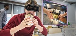 Eten smaakt beter met VR applicaties