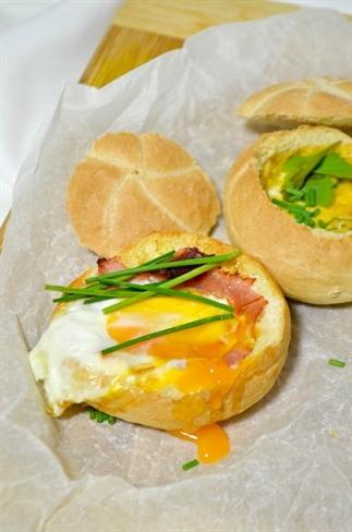 Gevulde broodjes uit de Airfryer of oven