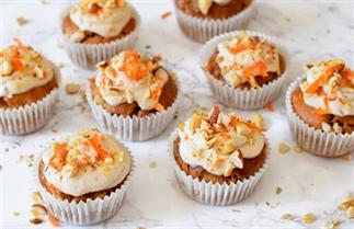 Gezonde carrot cake muffins - PASEN!