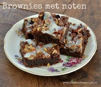 Glutenvrij brownies met noten