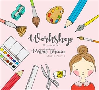 Kom jij een workshop portret tekenen volgen?