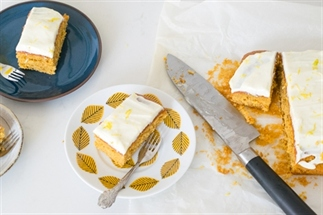lente carrot cake