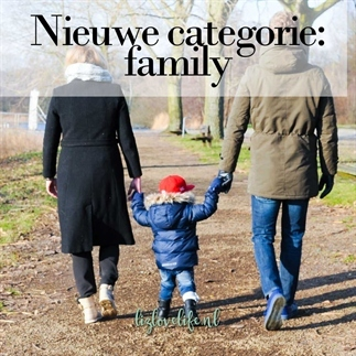 Nieuwe categorie: family