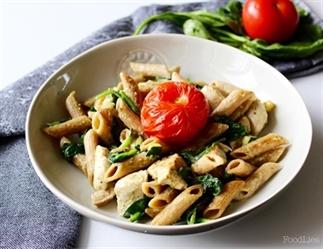 Pasta pesto (vegan)