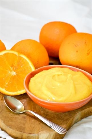 Sinaasappel curd