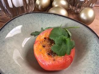 Tomaten gevuld met ei
