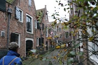 Wandelen door Middelburg