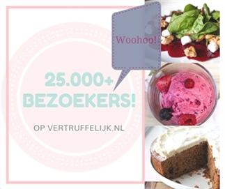 25.000+ bezoekers op vertruffelijk.nl!