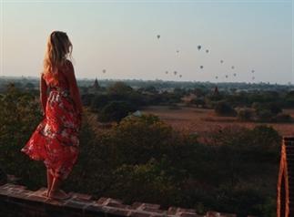 Bagan Myanmar: de perfecte Zonsopgang Spot